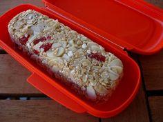 As Receitas da Patanisca: Barras de cereais com morangos