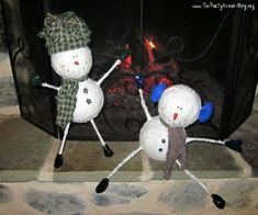 Whimsical-Paper-Mache-Snowman-Craft