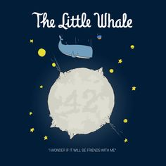 """The Little Whale"" is now up for voting #qwertee #LePetitPrince"