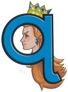 Alphabet Phonics, Smurfs, Kindergarten, Lettering, Fictional Characters, Kindergartens, Drawing Letters, Fantasy Characters, Preschool