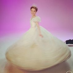 And twirled in her crazy big gown. | Here's A First Look At Carly Rae Jepsen As Cinderella On Broadway
