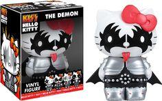 Kiss/Hello Kitty - Demon Vinyl Figure