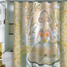 I pinned this Always Thoughtful Shower Curtain from the Cori Dantini event at Joss and Main!