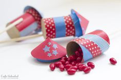 4th of July Party Ideas: Firecracker Favors Tutorial