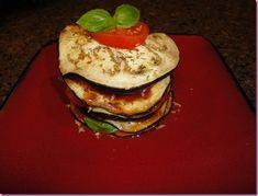 Eggplant Lasagna - The Fitnessista Eggplant Lasagna, Veggie Lasagna, Healthy Options, Clean Eating, Veggies, Favorite Recipes, Dinner, Breakfast, Decor Ideas