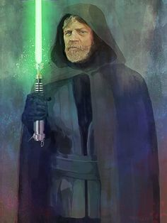 Star Wars; The Force Awakens Luke Skywalker