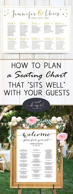 """How to Plan a Seating Chart That """"Sits Well"""" With Your Guests"""