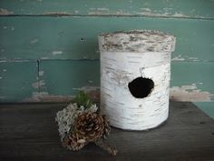 Caleb and Emily Designs: A Poem Lovely As a Tree: birch bark on Etsy, with poetry