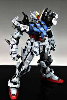 GUNDAM GUY: PG 1/60 GAT-X105 Strike Gundam - Painted Build