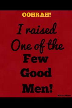 In my case it's Women!!  Proud USMC Mom!