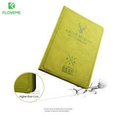 FLOVEME Deer Head Matte Flip Leather Case For Apple iPad Mini 4 Magnetic Flip Full Stand Cover For iPad Mini 3 2 1 Tablet Case