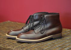 Alden Work Boot in Brown Chromexcel 403 #MensShoes #MensFashion  #AHOneShoes #Alden  #Aldenshoes #HandmadeShoes   #MensFashion   Rugged, iconic, and incredibly comfortable.  If you have any questions or comments we'd love to help. Contact AH One Shoes at 703-451-0540 or ahoneshoes@aol.com