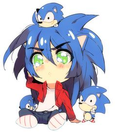 Lots of SANIC by PeachMaiden on DeviantArt