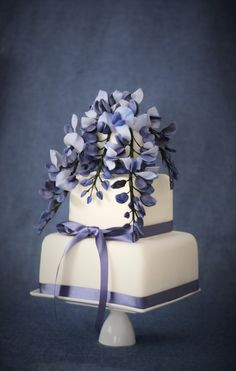 Wisteria Sugar Flowers and Wedding Cakes — Penelope d'Arcy Graham