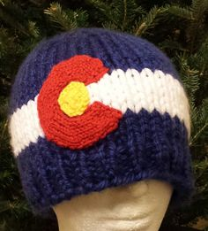 so most CO flag hats are crocheted . this is a custom item, so please add your size and any tweaks in the mssg section of your order Mountain Hat, Knit Crochet, Flag, Beanie, Knitting, Trending Outfits, Unique Jewelry, Hats, Handmade Gifts