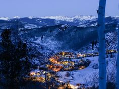 The picturesque village of Beaver Creek, where the billionaires prefer to play.