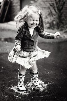 No matter how old I am, jumping in puddles and dancing in the rain will always put a smile on my face<3