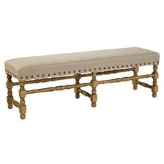 Free Shipping when you buy Furniture Classics LTD Madrid Upholstered Bedroom Bench at Wayfair - Great Deals on all Furniture products with the best selection to choose from!
