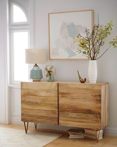 «Wood and inlaid brass-finished metal make for a warm, luxe look on this stunning Roar + Rabbit dresser. Shop it now with the link in profile! #mywestelm»
