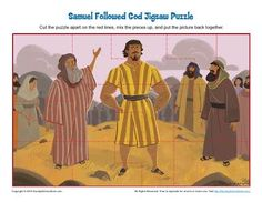Samuel Followed God Jigsaw Puzzle