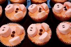 Farm Animals for your Barnyard Cupcakes