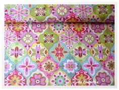"""""""Splendor""""  multi Riley Blake pink/grün"""