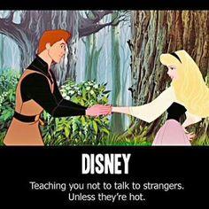 Hot Disney Strangers