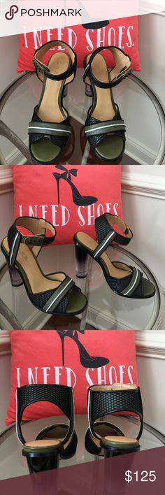GWEN STEFANI BRAND NEW LAMB SANDALS! GWEN STEFANI BRAND NEW LAMB SANDALS STRAP AROUND ANKLES TWO/TONE! GORGEOUS GWEN STEFANIE LAMB Shoes Heels