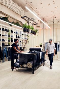 Neuw Denim Store fitout by Ficus | Designed by Breath Architecture