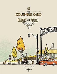 The Columbus Ohio Coloring and Activity Book by Katie Barron