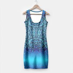 Elegant Blue Frost Sparkle Simple Dress 2, Live Heroes Simple Dresses, Formal Dresses, Cyber, Frost, Fit Women, Mall, Sparkle, Elegant, Live