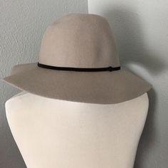 Asos gray floppy hat black trim Asos gray floppy hat with black trim. New. ASOS Accessories Hats