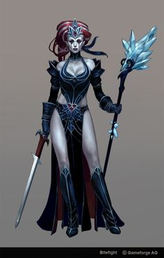 Gothic Witch by Scebiqu on DeviantArt Fantasy Warrior, Fantasy Rpg, Medieval Fantasy, Fantasy Artwork, Dark Fantasy, Female Character Concept, Character Art, Character Design, Fantasy Women