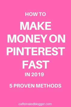 Learn how you can make money on Pinterest. Today I will show you step-by-step how to make money on Pinterest (even without a blog).