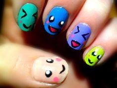 smileys nails~