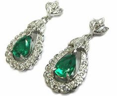 Diamond and emerald