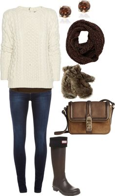 Winter Outfit -- minus the boots.