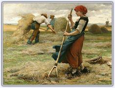 Julien Dupre (1851 - 1910) | Fransız Ressam - Sayfa 2 - Forum Gerçek