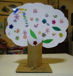 Kids & tots- Tu B' Shevat Craft. We have a ton of toilet paper rolls to use, just let me know if you need them! ~Morissa