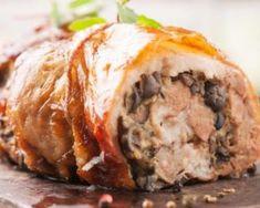 Rôti de veau léger farci aux champignons : http://www.fourchette-et-bikini.fr/recettes/recettes-minceur/roti-de-veau-leger-farci-aux-champignons.html
