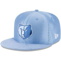 b05bba5282b Stay dripping in Memphis Grizzlies pride with this New Era On-Court  Original Fit adjustable snapback hat! This hat is a part of the NBA Draft  series and ...