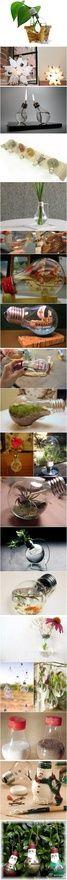 Ideas for light bulbs craft-ideas