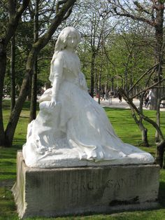 edffd0e0840eb87d2aa689629a8d55f4  george sand luxembourg - The Monument To Chopin In The Luxembourg Gardens