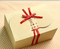 6 x Kraft Brown Box cookie cupcake cake macaroon by MeaningfulGift