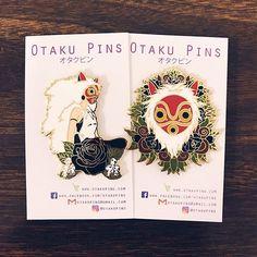 First restock tonight at 8 PM EST! Don't miss these! Set those alarms and post notifications. They're gonna go quick. Link in bio 💖✨ . . . #anime #art #otaku #animepins #enamel #enamelpins #cutepins #kawaiipins #pinsofig #pinstagram #pinmail #pinsofinstagram #kawaii #cute #manga #studioghibli #ghibli #princessmononoke #mononoke #san #mask