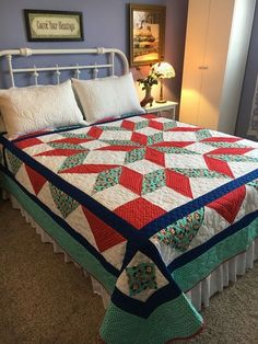 I'm keen on this glorious patchwork quilts Big Block Quilts, Star Quilt Blocks, Star Quilts, Easy Quilts, Patchwork Quilt Patterns, Quilt Patterns Free, Pattern Blocks, Patchwork Fabric, Crazy Patchwork