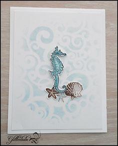 seahorse & stencils March 2018