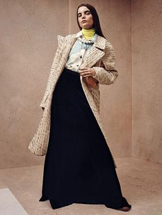 Michelle van Bijnen by Gregory Harris for Vogue China October 2015 - Page 2 | The Fashionography