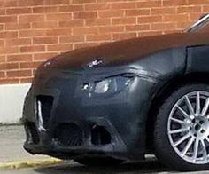 Alfa Romeo Giulia: conferme sul frontale (FOTO)