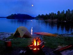 camping at voyageurs national park in northern MN. gorgeous